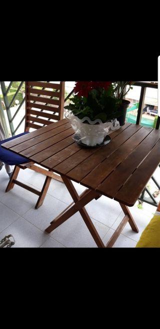mesa balcon