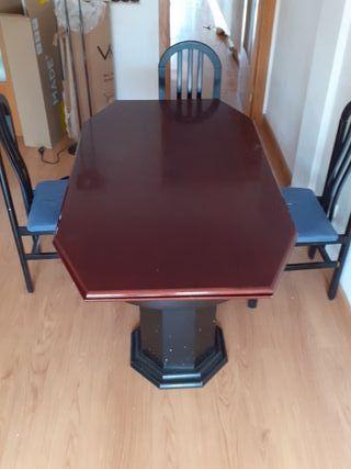 regalo mesa comedor y sillas