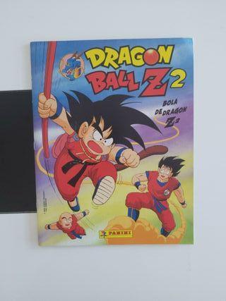 ÁLBUM CROMOS DRAGON BALL Z 2