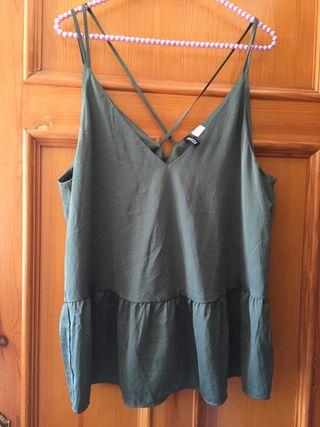 Blusa verde votella