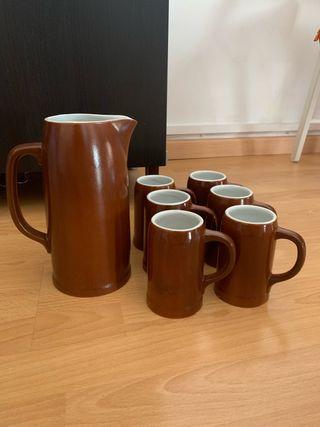 Set jarra y vasos