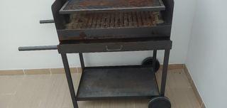barbacoa hierro forjado artesanal