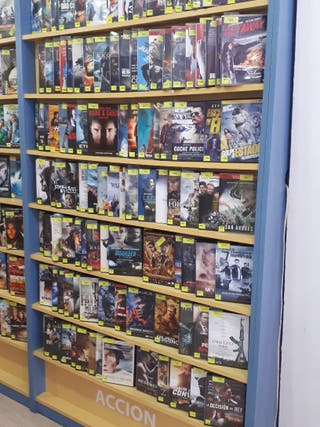 Peliculas en DVD y BR