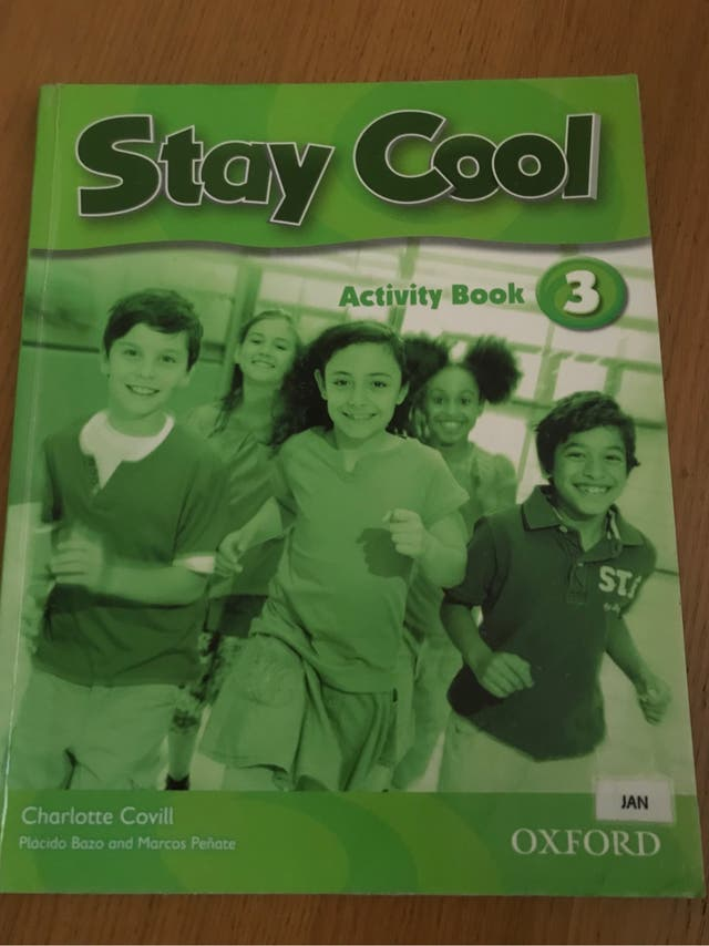Libro Inglés 3o primaria. Stay Cool