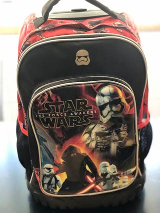Mochila de colegio Star Wars The Forcé Awakens.