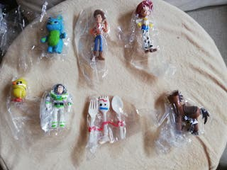 "Pack 7 figuras ""Toy Story 4"". NUEVO"
