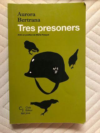 Libro Tres presoners- Aurora Bertrana