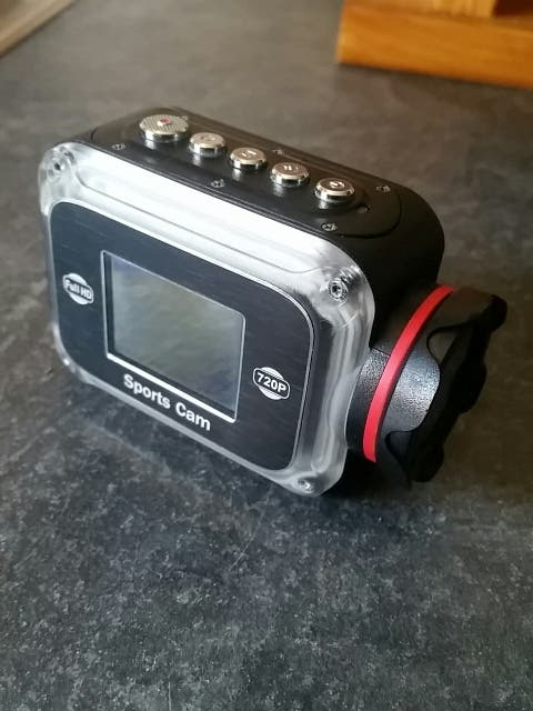 cámara de video sumergible full HD