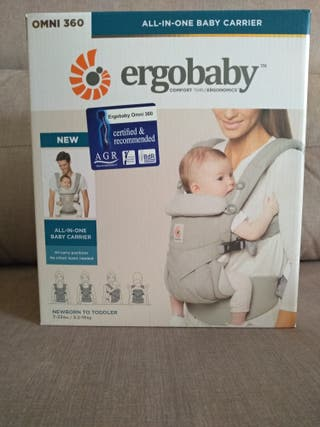 mochila porta bebés ergonómica
