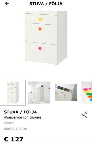 En Dos Stuva Ikea Cajoneras De Segunda 65 € Mano Por Majadahonda bYgy76fv
