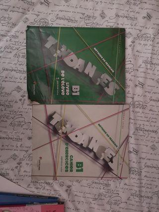 libro de ejercicios y de texto de francés b1