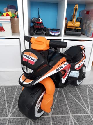 Correpasillos moto Repsol Injusa
