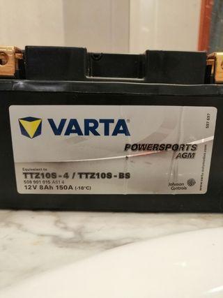batería de moto yamaha r6, honda cbr, suzuki gsxr