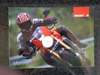 Catálogo Ducati Monster.