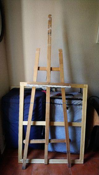 Caballete de madera de 1,75 cm