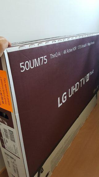 Tv Lg 50mu7500 nueva a estrenar
