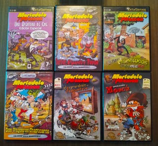 Mortadelo y Filemón pack lote de 6 juegos. PC