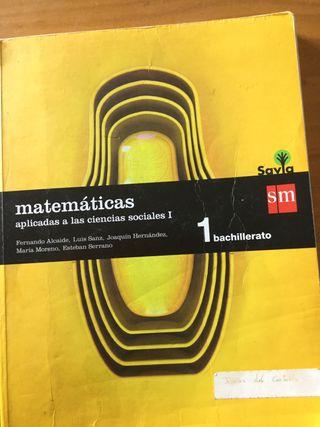 Matemáticas aplicadas a las ciencias sociales bach