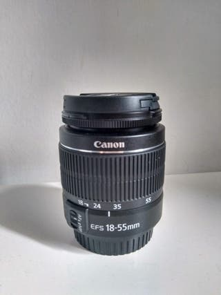 Objetivo Canon ef-s18-55mm f/3.5-5.6 iii