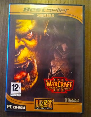 Warcraft III. PC.
