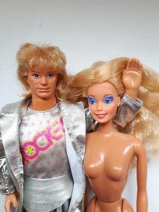Barbie y Ken Rockers