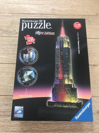 Puzzle 216 3D night edition empire state NUEVO