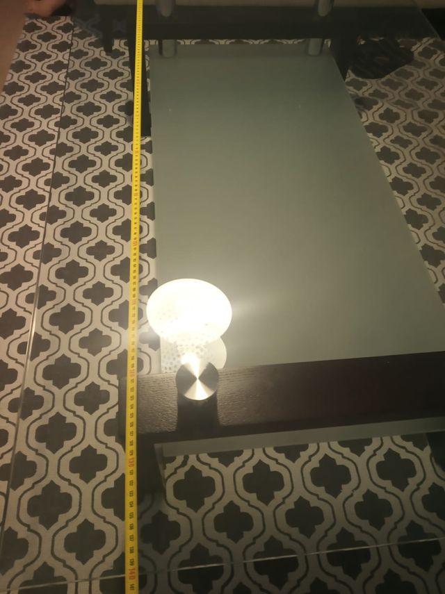 Mesa de centro-cristal