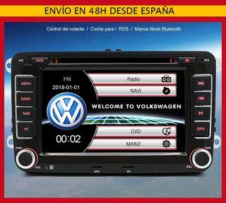 Radio pantalla GPS para Golf 5/Passat/Leon/Touran