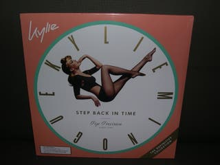 Kylie Minogue VINILO VERDE Step back in time NUEVO
