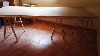 mesa conglomerado reforzada
