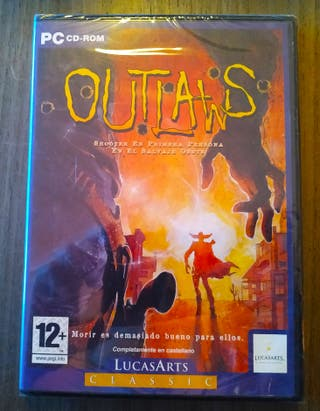 Outlaws. PC. Lucasarts. ¡¡¡PRECINTADO!!!