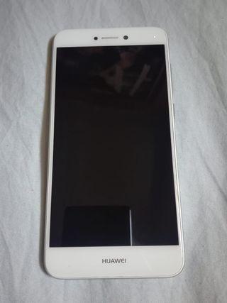 Huawei p8lite 2017 blanco con caja y funda