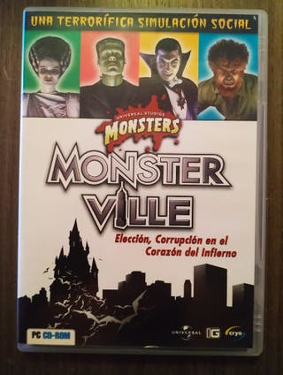 Monster Ville. PC.