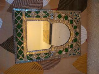espejo decoración arabe
