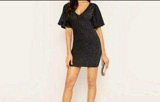 vestido nuevo lycra talla L