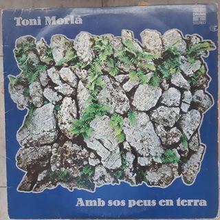 Disco vinilo LP TONI MORLA