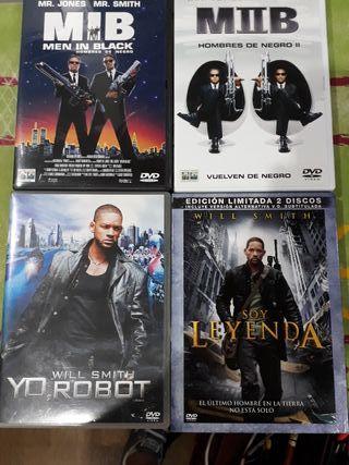 4 películas DvD