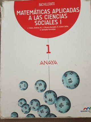 Libro 1°Bach matemáticas