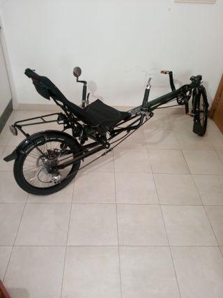 bicicleta reclinada HASE TAGUN