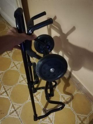 carrito para transportar camilla de masaje
