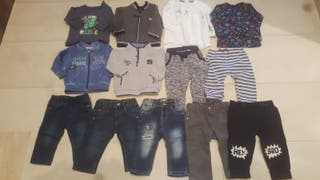 lote ropa 6-9 meses