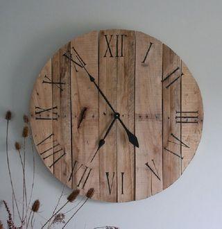 reloj de pared bobina