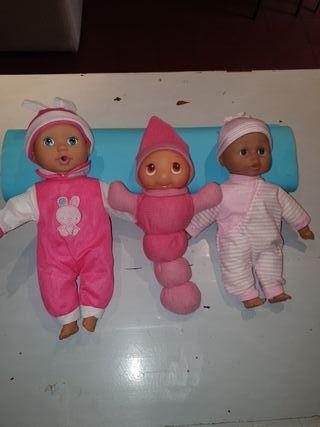Muñecos para bebés varios