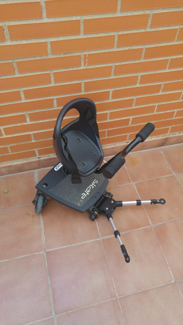 Patinete con asiento be cool para carrito