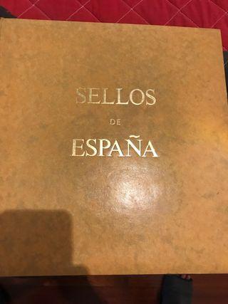 Colección sellos España