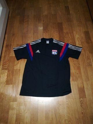 camiseta olímpic Lyon Adidas.talla L