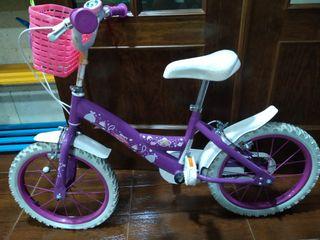 """Bicicleta princesa Sofía 16"""""""