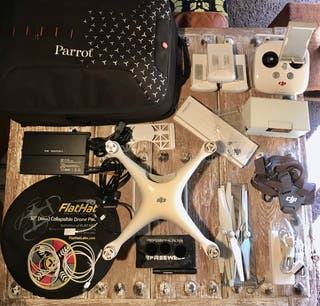 Drone DJI Phantom 4 Pro Full Equip