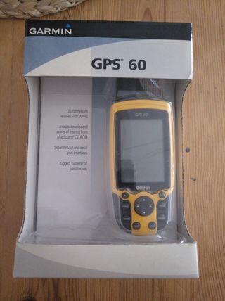 Navegador Garmin GPS 60