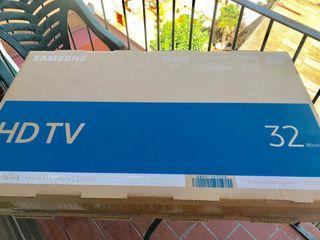 Tv nuevo, recién saqué de caja
